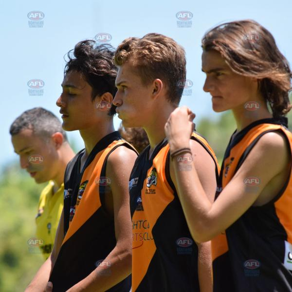 Under 16 Tigers walking as one pack
