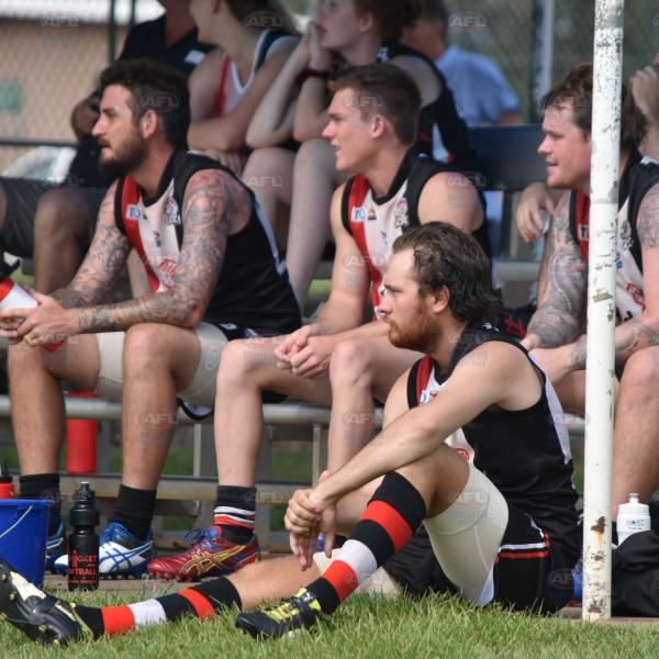 The Southern Districts bench looks on in Division 2