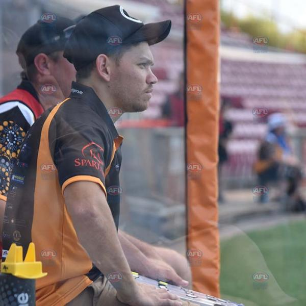 Phillip Wills on the Nightcliff Tigers Bench