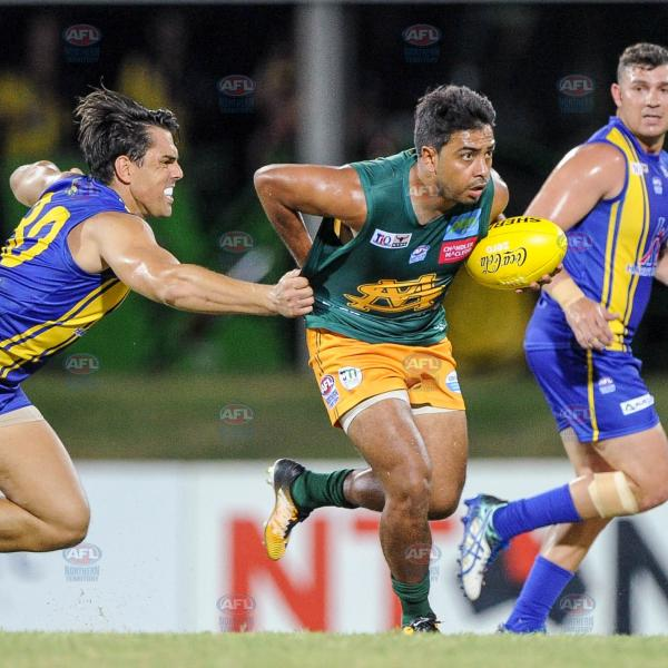 Shannon Rioli playing under pressure