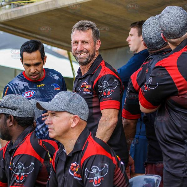 Eddie Betts joins the Redtails coaching bench