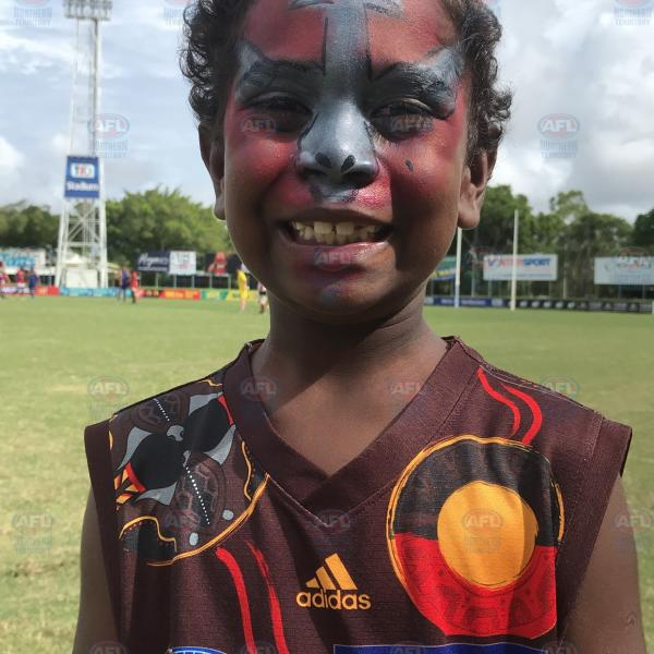 Tiwi Bombers number one fan!