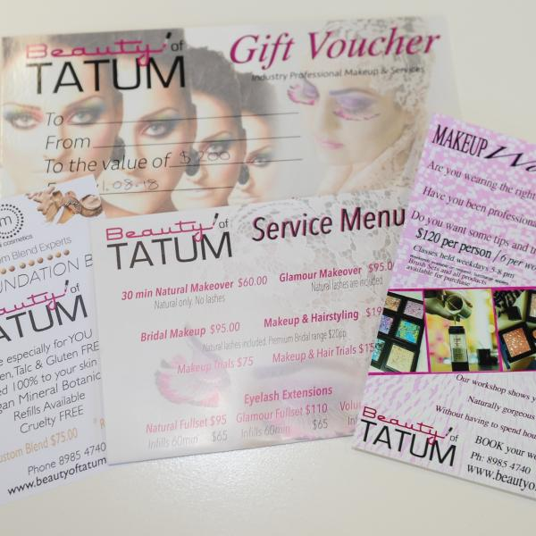 a $200 voucher to spend at Beauty of Tatum, thanks to the guys looking after our looks at McMahon Services NT