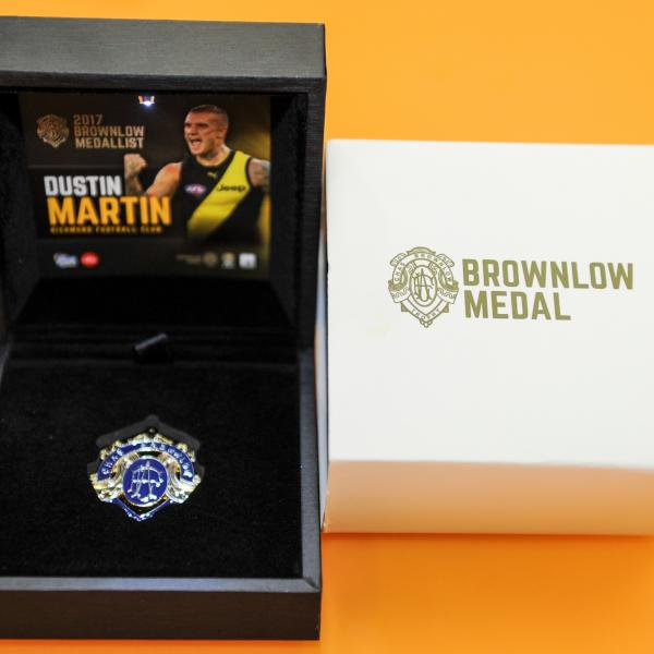 Take Chas home with you! A replica Brownlow Medal with LED light to showcase it's awesomeness with thanks to The AFL Shop