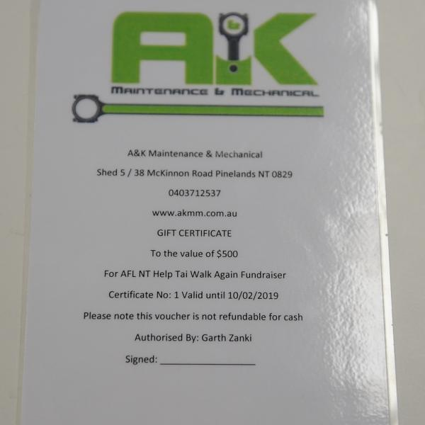 Everyone needs their car serviced at one time or the other and these great guys at A&K Maintenance and Mechanical have you sorted with $500 to spend