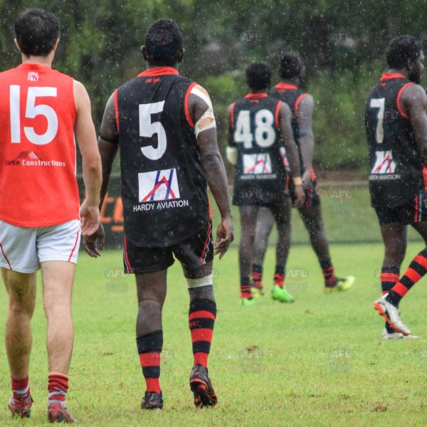 Waratah were out numbered by Tiwi for the duration of their clash