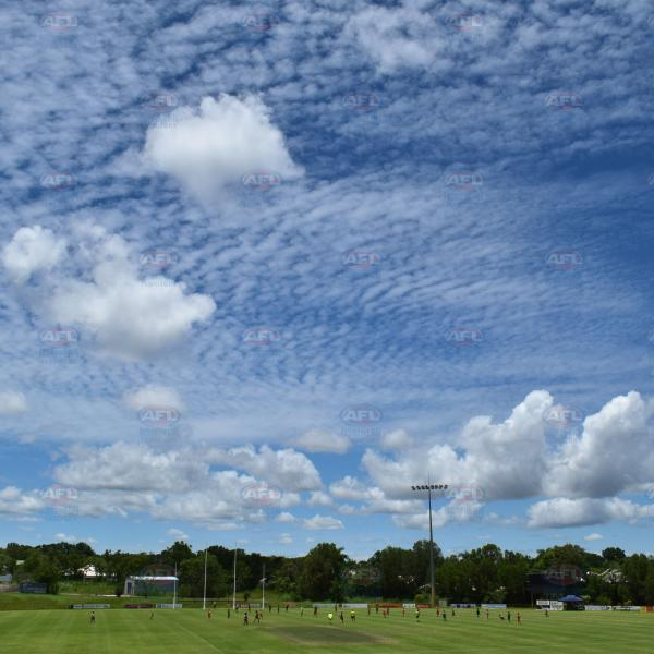 An amazing sky over Asbuild Oval in Pamerston