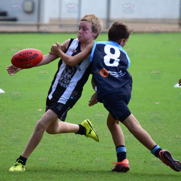 Going for the kick - Under 12 Atkinson Grand Final