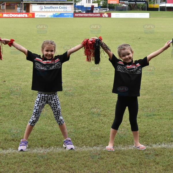 Tiwi Bombers cutest supporters!