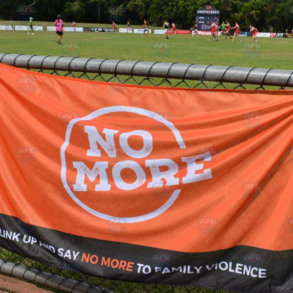 The No More flag - supporting no more family violence