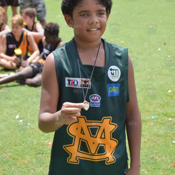 John Friel was awarded Best on Ground for his efforts during the Under 14 Gundersen Grand Final