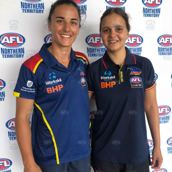 Ange Foley and Danielle Ponter