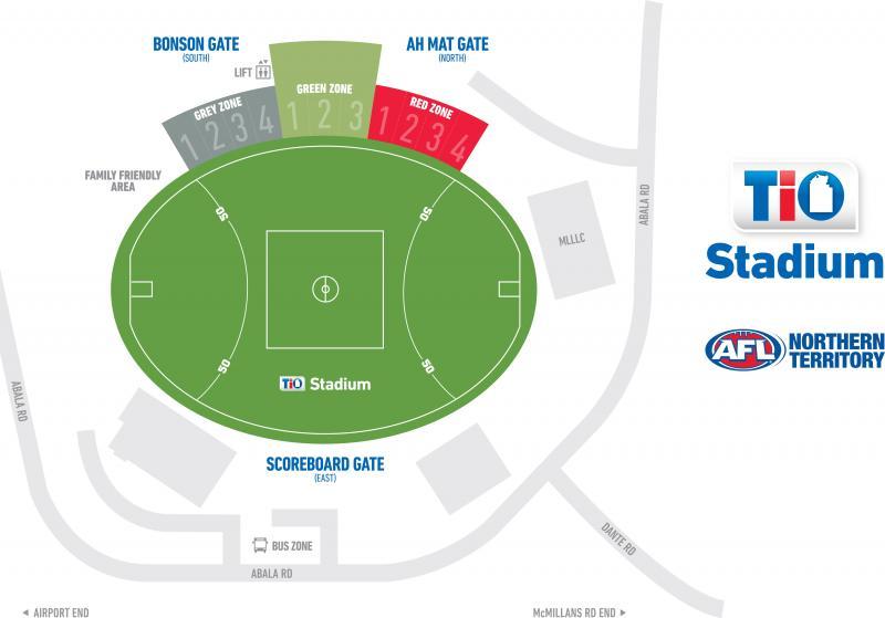 TIO Stadium   AFL Northern Territory